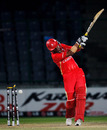 Rizwan Cheema is bowled by Elijah Otieno, Canada v Kenya, Group A, World Cup, Delhi, March 7, 2011