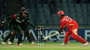 Ruvindu Gunasekera is stumped in bizarre fashion by Maurice Ouma, Canada v Kenya, Group A, World Cup, Delhi, March 7, 2011