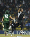 Kyle Mills got the important wicket of Younis Khan