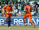 Eric Szwarczynski and Wesley Barresi put on a 56-run opening stand, India v Netherlands, Group B, World Cup, Delhi, March 9, 2011