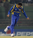 Tillakaratne Dilshan celebrates his fourth wicket, Sri Lanka v Zimbabwe, Group A, World Cup, Pallekele, March 10, 2011