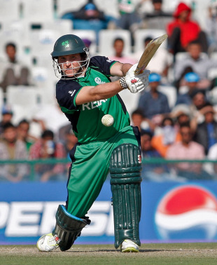 Gary Wilson got to a fifty off 52 balls, Ireland v West Indies, Group B, World Cup, Mohali, March 11, 2011