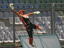 Canada's wicketkeeper Hamza Tariq in action during practice, Mumbai, March 11, 2011