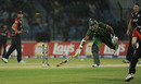 Junaid Siddique was found short by a superb direct hit from James Anderson