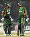 Imrul Kayes and Shakib Al Hasan combined calmly in a pivotal fourth-wicket stand