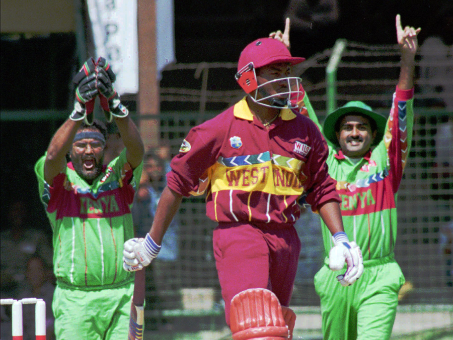 Brian Lara: famous for big runs and a big Kenya win