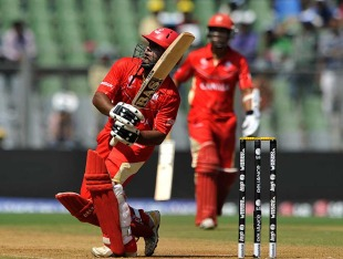 Hiral Patel played a brief, but attacking, innings, Canada v New Zealand, World Cup 2011, Group A, Mumbai, March 13 2011