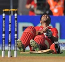 Ashish Bagai suffered cramps, Canada v New Zealand, World Cup 2011, Group A, Mumbai, March 13 2011