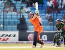 Eric Szwarczynski scored 28 before he was run out, Bangladesh v Netherlands, Group B, World Cup 2011, Chittagong, March 14, 2011