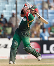 Shahriar Nafees hits a four in his 37, Bangladesh v Netherlands, Group B, World Cup 2011, Chittagong, March 14, 2011