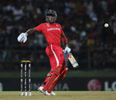 Elton Chigumbura is hit by an Umar Gul bouncer, Pakistan v Zimbabwe, World Cup, Pallekele, March 14, 2011