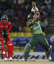 Asad Shafiq plays one off the back foot, Pakistan v Zimbabwe, World Cup, Pallekele, March 14, 2011