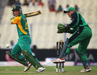 Colin Ingram steadied South Africa with a fluent 46, Ireland v South Africa, Group B, World Cup, Kolkata, March 15, 2011