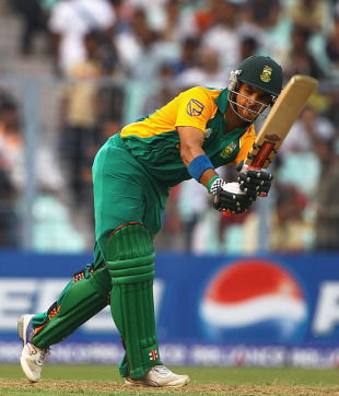 JP Duminy played a well-paced innings before holing out on 99, Ireland v South Africa, Group B, World Cup, Kolkata, March 15, 2011