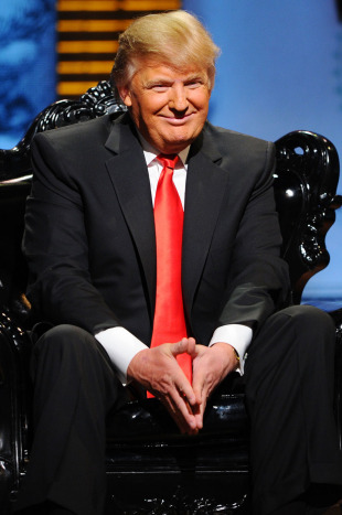 Donald Trump attends the Comedy Central Roast Of Donald Trump, New York, March 9, 2011