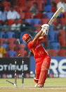 Zubin Surkari edges a fullish delivery from Shaun Tait on to his stumps, Australia v Canada, Group A, World Cup, Bangalore, March 16, 2011