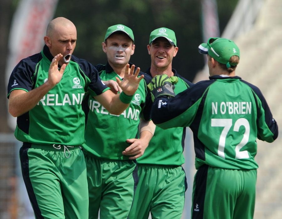 Ireland get-together after the early dismissal of Eric Swarczynski