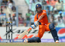 Peter Borren lifts the ball during his innings of 84, Ireland v Netherlands, World Cup 2011, Group B, March 18, 2011