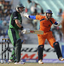 Atse Buurman is thrilled after taking a catch to dismiss William Porterfield, Ireland v Netherlands, World Cup 2011, Group B, March 18, 2011