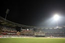 A light tower goes off at the Wankhede, New Zealand v Sri Lanka, Group A, World Cup 2011, Mumbai, March 18, 2011