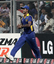 Nuwan Kulasekara walks back after dropping a catch, New Zealand v Sri Lanka, Group A, World Cup 2011, Mumbai, March 18, 2011