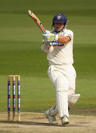 Phil Jaques top-scored for NSW in their second innings with 94, Tasmania v New South Wales, Sheffield Shield Final, Hobart, 4th day, March 20, 2011