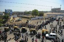 People queue up outside Motera to buy tickets for India's quarter-final, World Cup, Ahmedabad, March 20, 2011