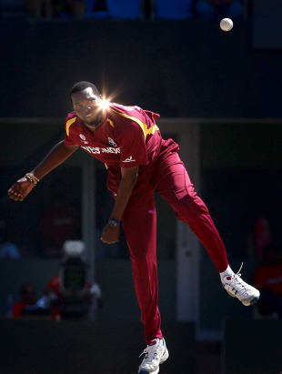 Sulieman Benn shared the new ball, India v West Indies, Group B, World Cup 2011, Chennai, March 20, 2011
