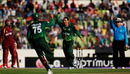 Saeed Ajmal sneaked one through Darren Sammy's defences