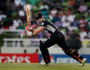 Kane Williamson scored an unbeaten 38, New Zealand v South Africa, 3rd quarter-final, Mirpur, World Cup 2011, March 25, 2011