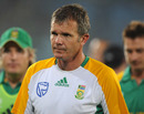 Corrie van Zyl looks despondent after South Africa's exit from the World Cup, New Zealand v South Africa, 3rd quarter-final, Mirpur, World Cup 2011, March 25, 2011