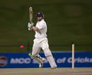 Steven Davies played his second useful innings of the match
