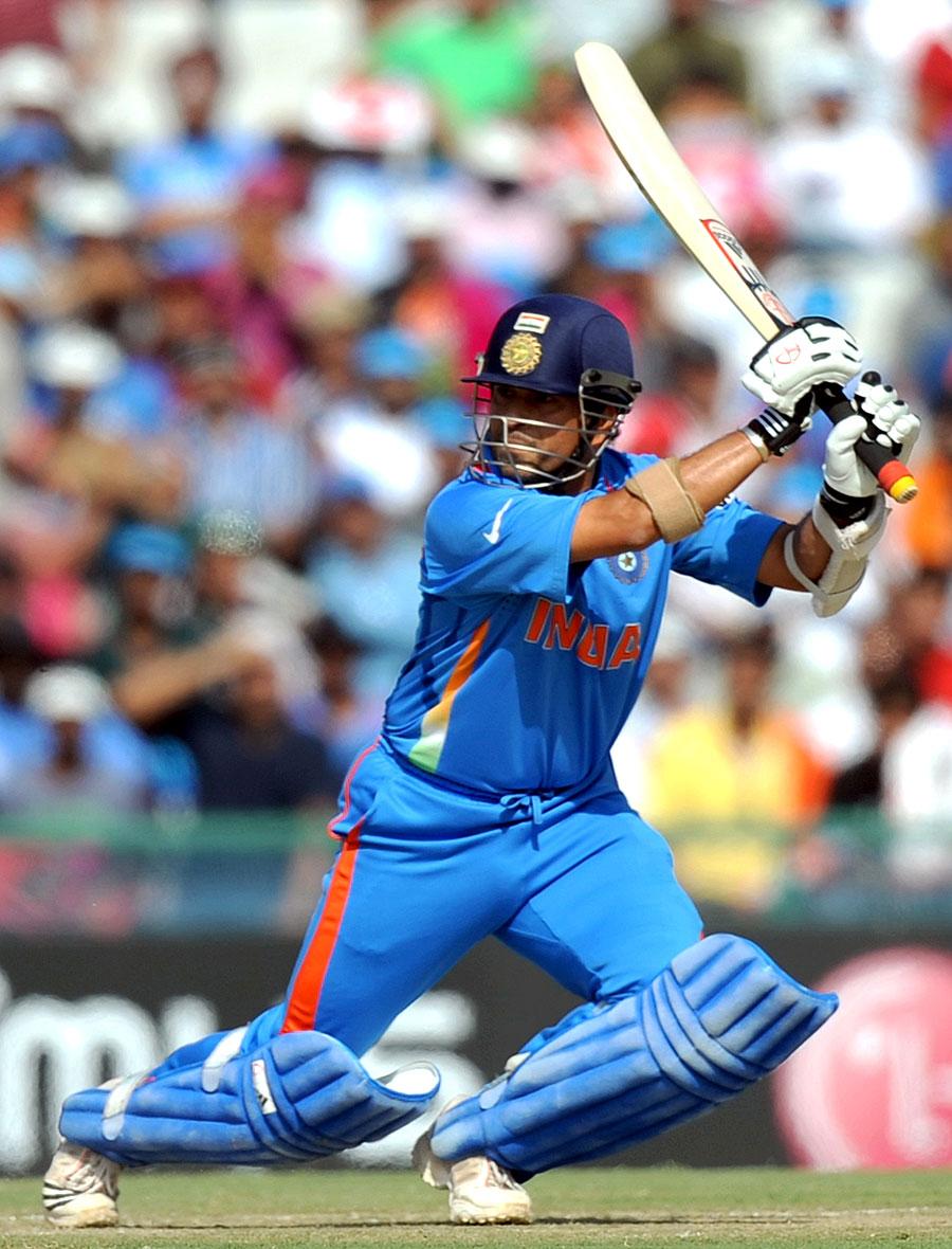 Sachin Tendulkar got to a fifty off 67 balls