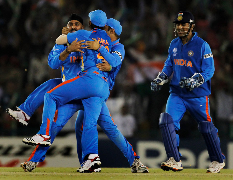 India vs Pakistan Highlights Semi Final Cricket World Cup 2011 win