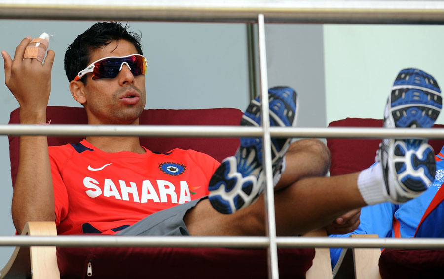 Ashish Nehra is a doubtful starter for the final, as he tends to a fractured finger