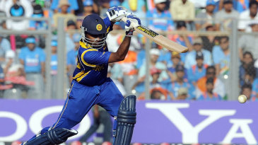 Mahela Jayawardene got to a fifty off 49 balls