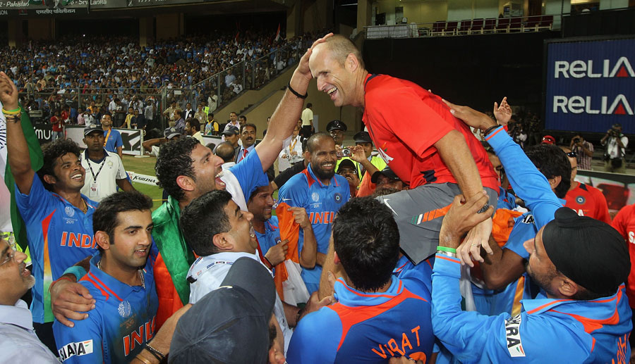 For Gary Kirsten, the World Cup win was three years in the making