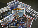 Newspapers in India hail the team's World Cup victory