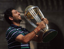 Player of the Tournament Yuvraj Singh with the World Cup