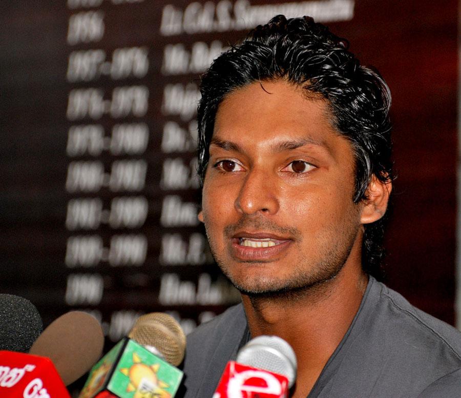 ... Sangakkara announces his decision to step down as Sri Lanka captain