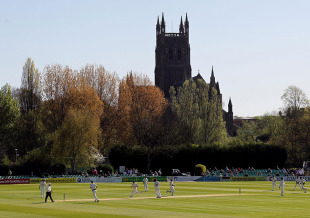 New Road looked stunning on the first day of the English season