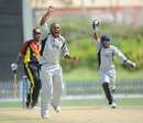 Arshad Ali makes a big appeal, UAE v Papa New Guinea, ICC World Cricket League Division 2, Dubai, April 9, 2011