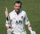 James Middlebrook's 5th first-class hundred gave Northamptonshire a 54-run lead, Surrey v Northamptonshire, County Championship, Division two, The Oval, April 10, 2011