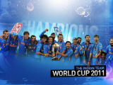 Team India - ICC World Cup 2011 Winners
