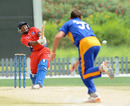Dion Stovell made a quickfire 77 to put Bermuda's chase on track, Bermuda v Namibia, Dubai, April 12, 2011