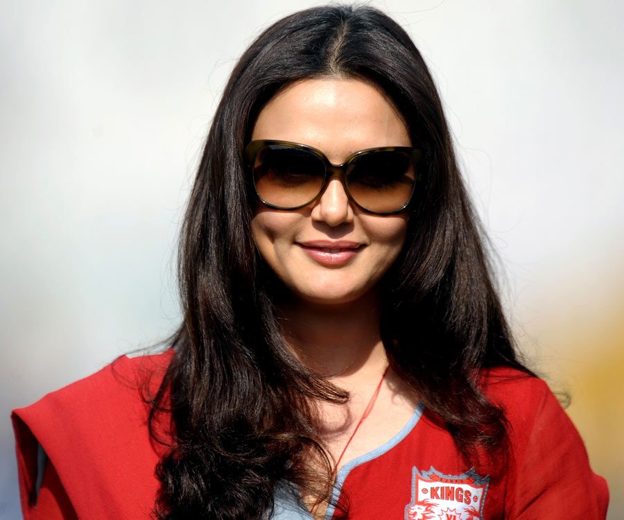 Kings Xi Punjab Co Owner And Bollywood Actress Preity Zinta Photo