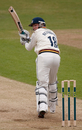 Michael Richardson glances during his half-century against Yorkshire, Yorkshire v Durham, County Championship Divison One, Leeds, April 14, 2011