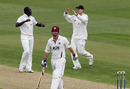 Robbie Joseph removed Mal Loye early on the second day as Kent fought back