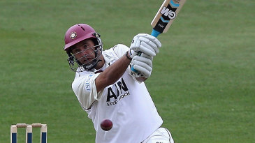 Andrew Hall led Northamptonshire to a big first-innings lead with a century