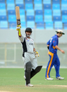 Saqib Ali's fifty helped UAE to a five-wicket win over Namibia in the Division Two final, United Arab Emirates v Namibia, WCL Division 2, Dubai. April 15, 2011